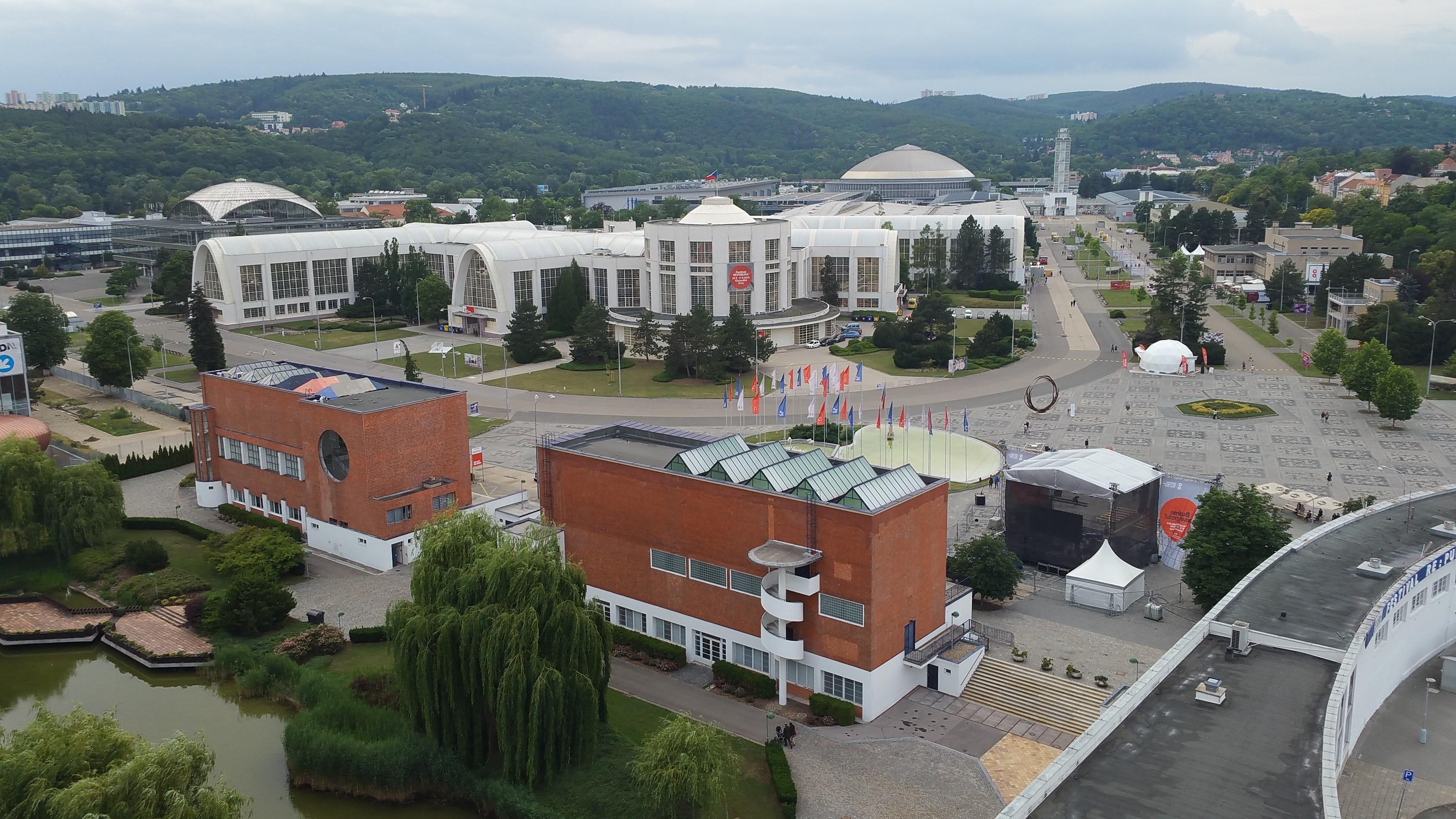 Brněnské výstaviště v červnu 2017
