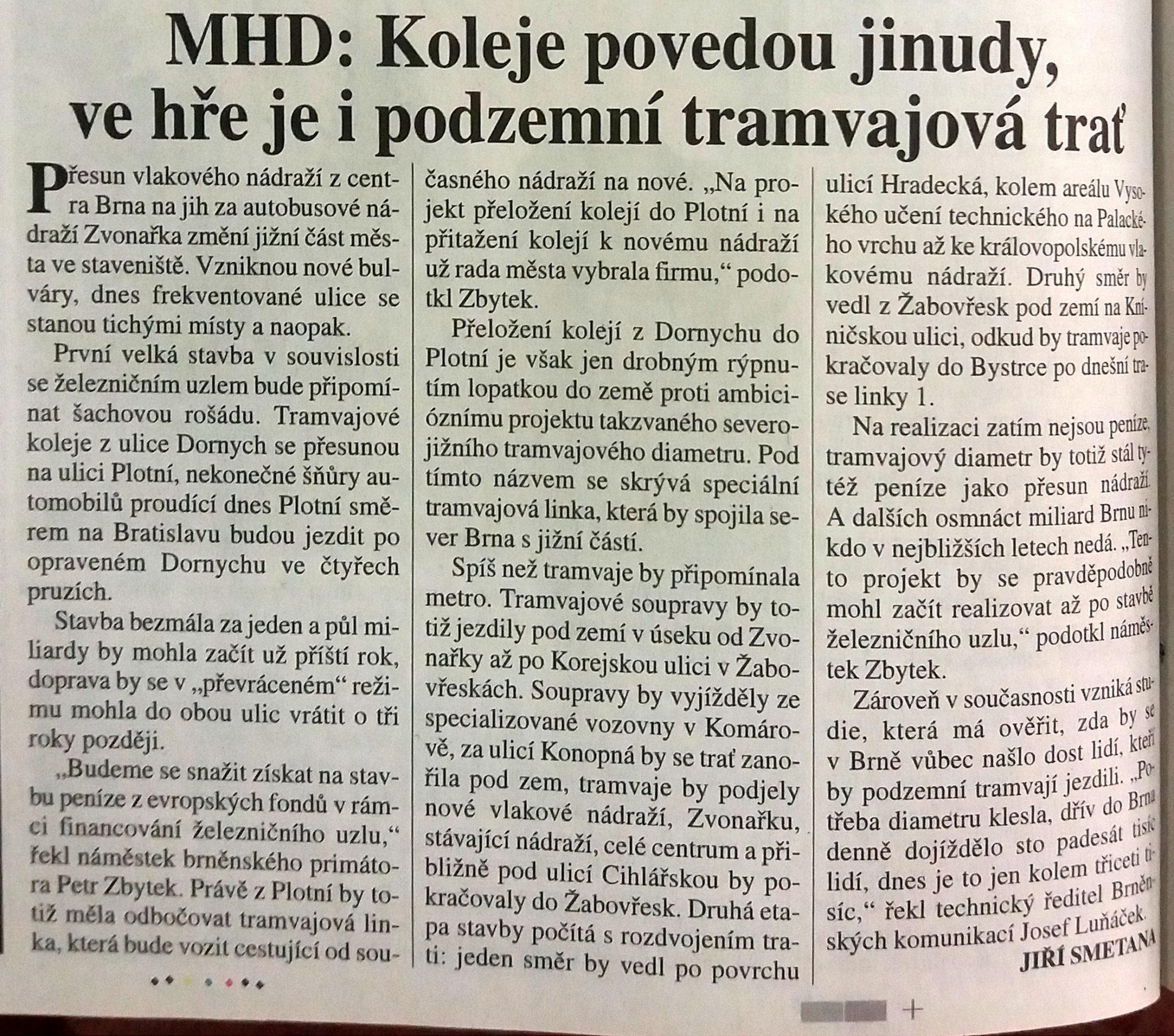 Šalina Plotní - MFDnes ze dne 11.března 2005