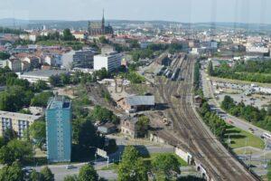 Brno uvnitř železničního uzlu