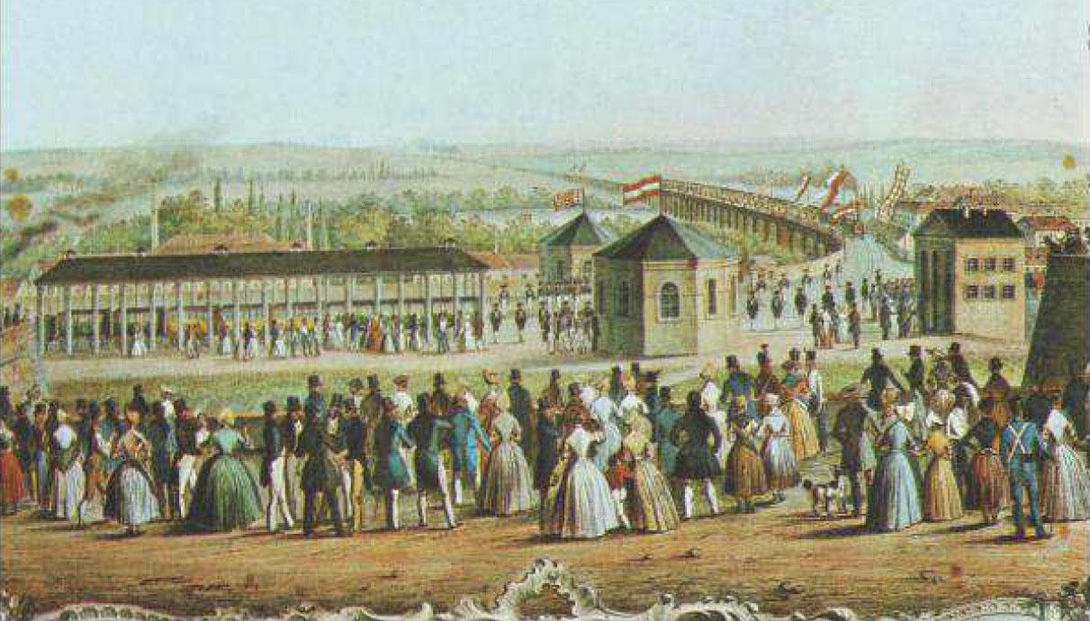 Sláva, do Brna přijel od Vídně první vlak, rok 1839