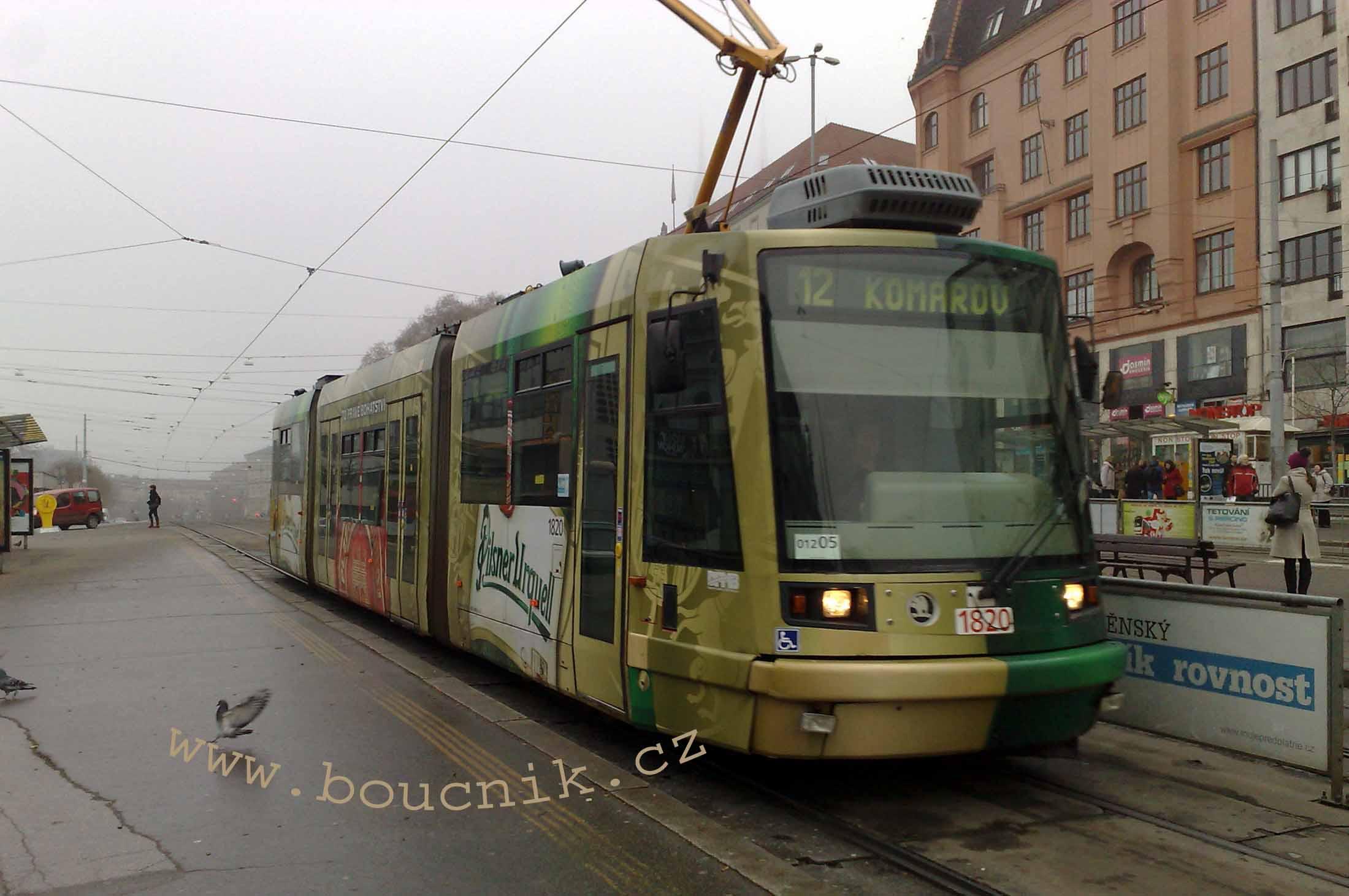 Vliv nového územního plánu města Brna na veřejnou dopravu