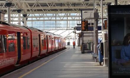 Brněnské nádraží v oblouku