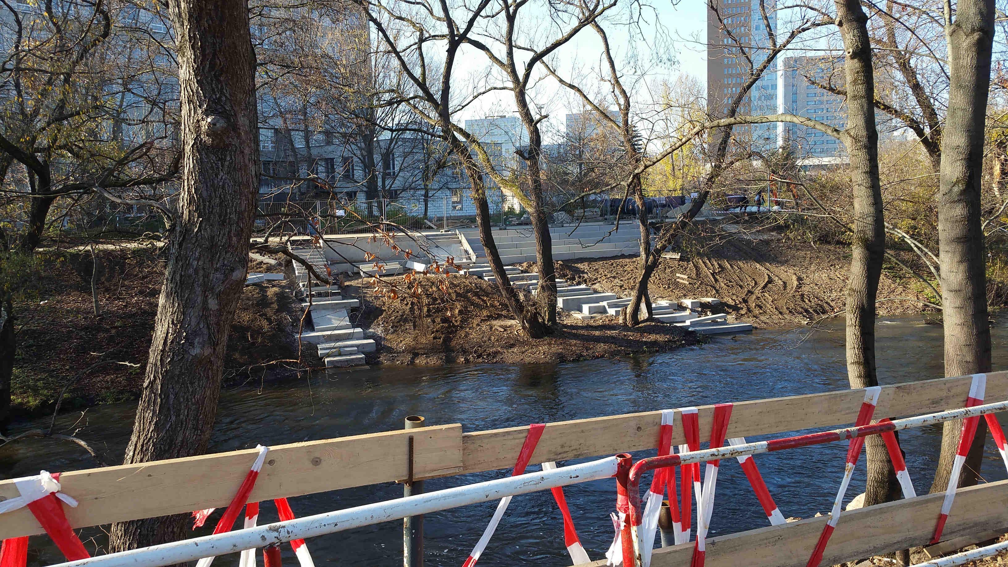 Oživení řeky Svratky u nového brněnského nádraží