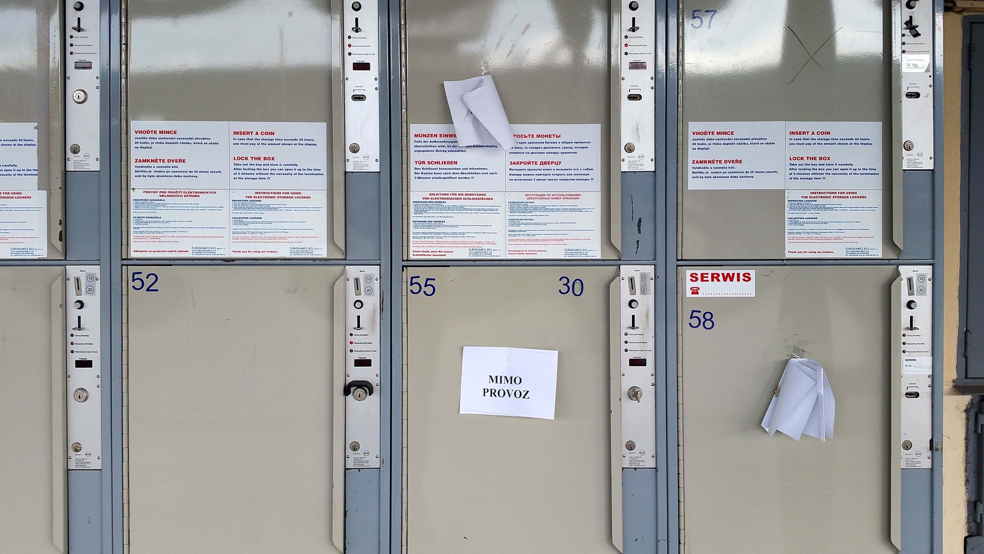 Trezory na brněnském nádraží - za kolik?