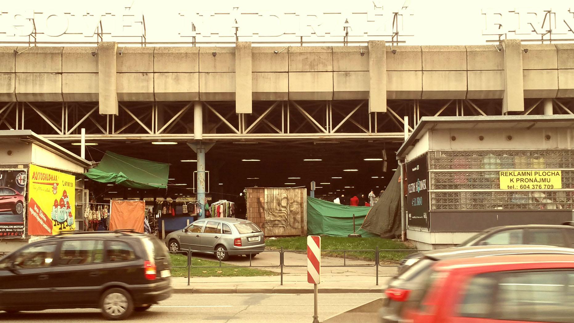 Autobusové nádraží Brno Zvonařka
