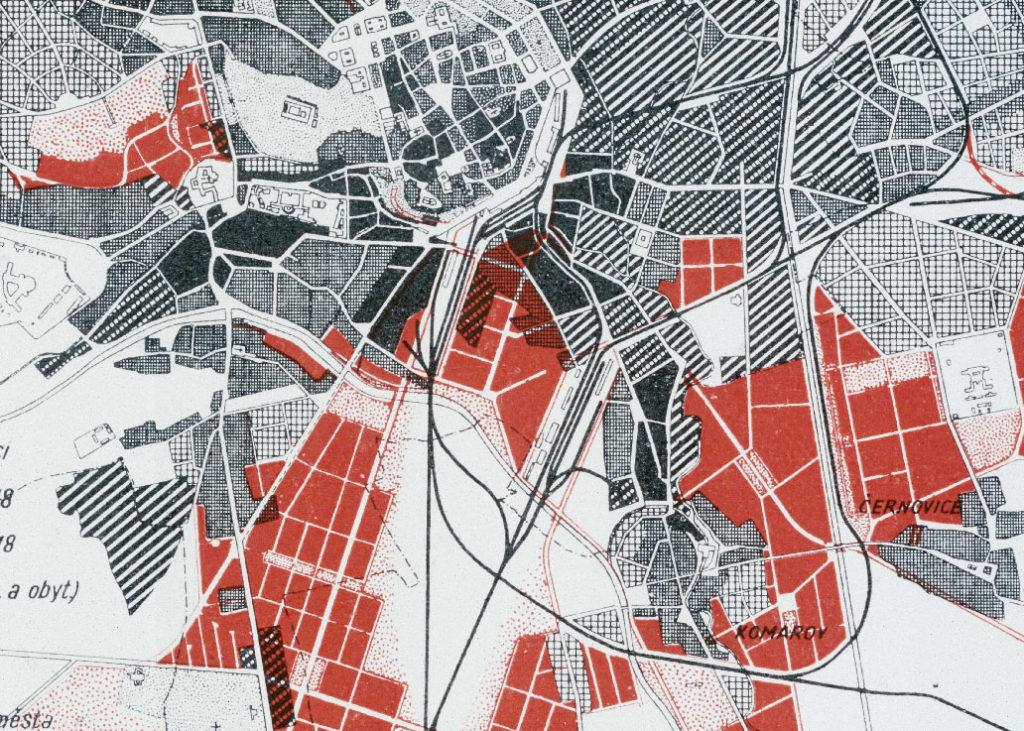Územní plán z roku 1938