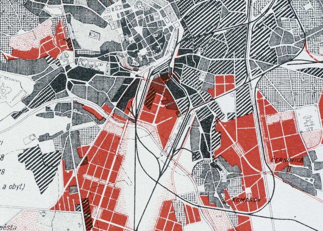 Brněnský územní plán z roku 1938