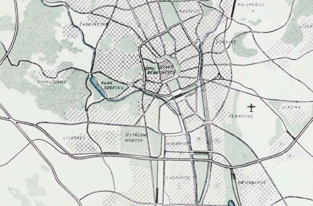 Územní plán města Brna z roku 1947