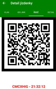 Poseidon - QR kód pro kontrolu u řidiče autobusu