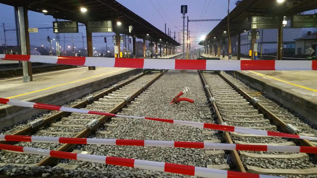 V. a VI.nástupiště Brno