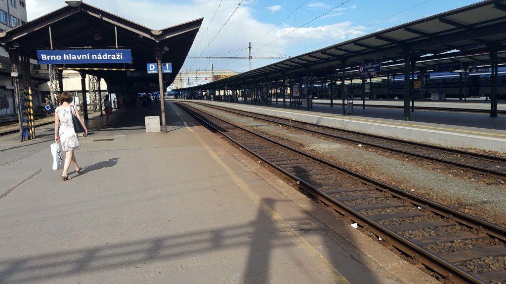 Překopnutý kabel Brno