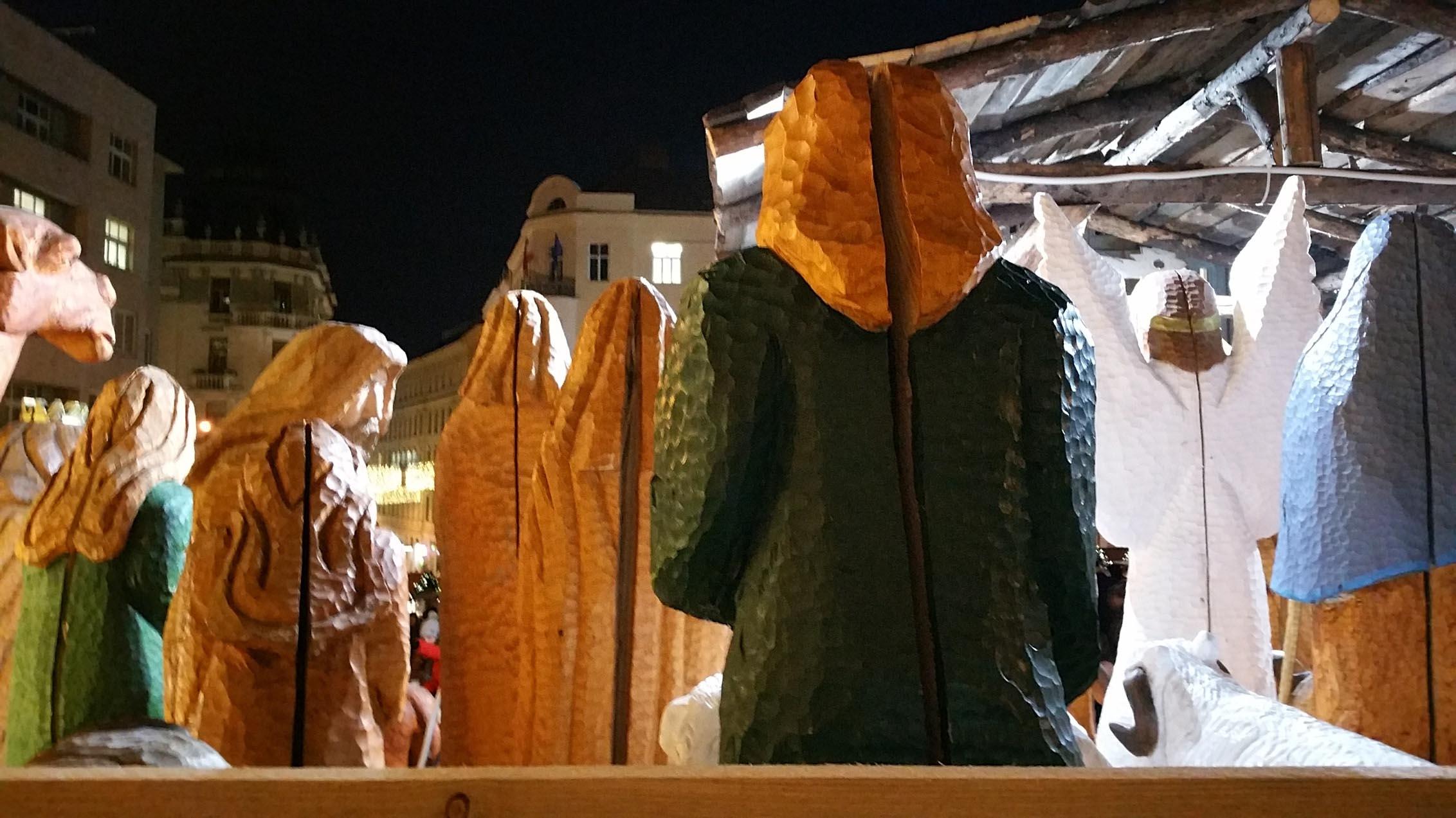 Dominikánské náměstí o brněnských vánocích 2018