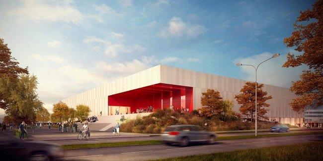 Atletická hala v Bohunicích, vizualizace návrhu