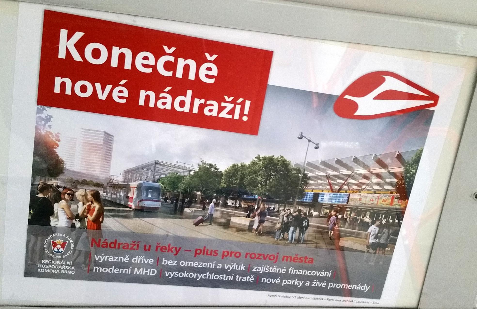 Nové brněnské nádraží