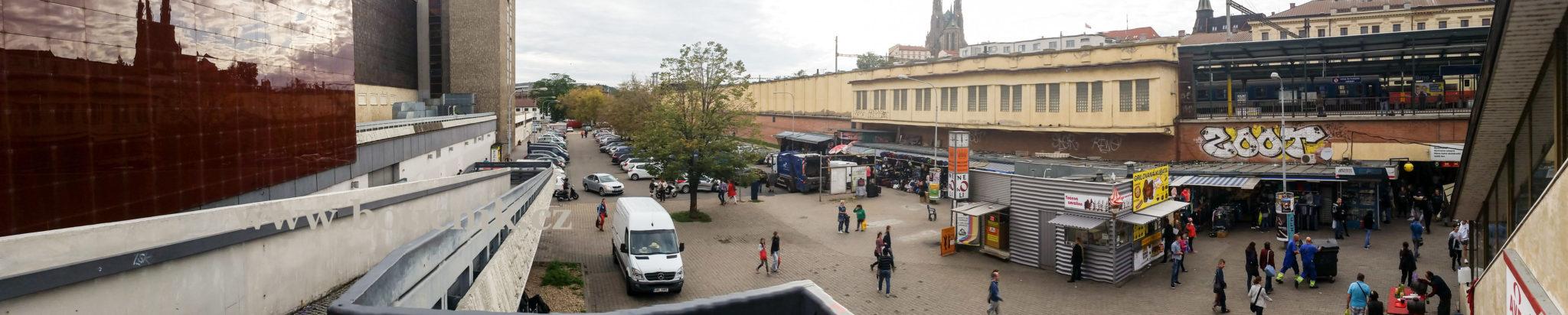 OD Prior u horního brněnského nádraží jako součást městských legend