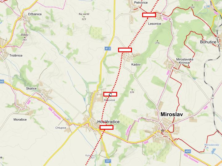 Návrh přímého spojení Znojma a Brna