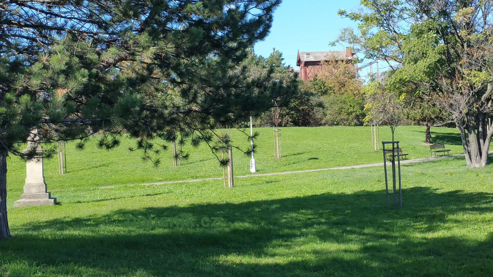 Park Uhelná - Opuštěná