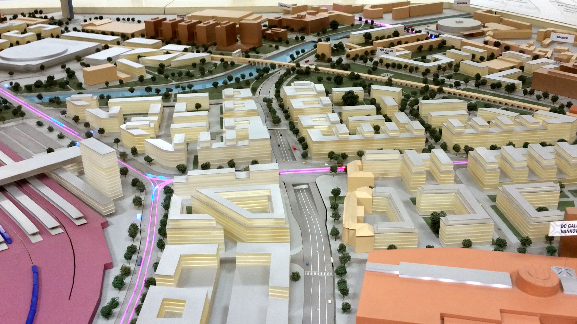 Model jižního brněnského centra