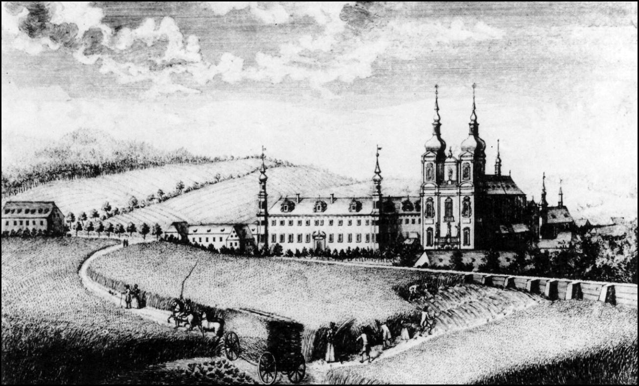 Zábrdovice kostel F.B. Werner 1750