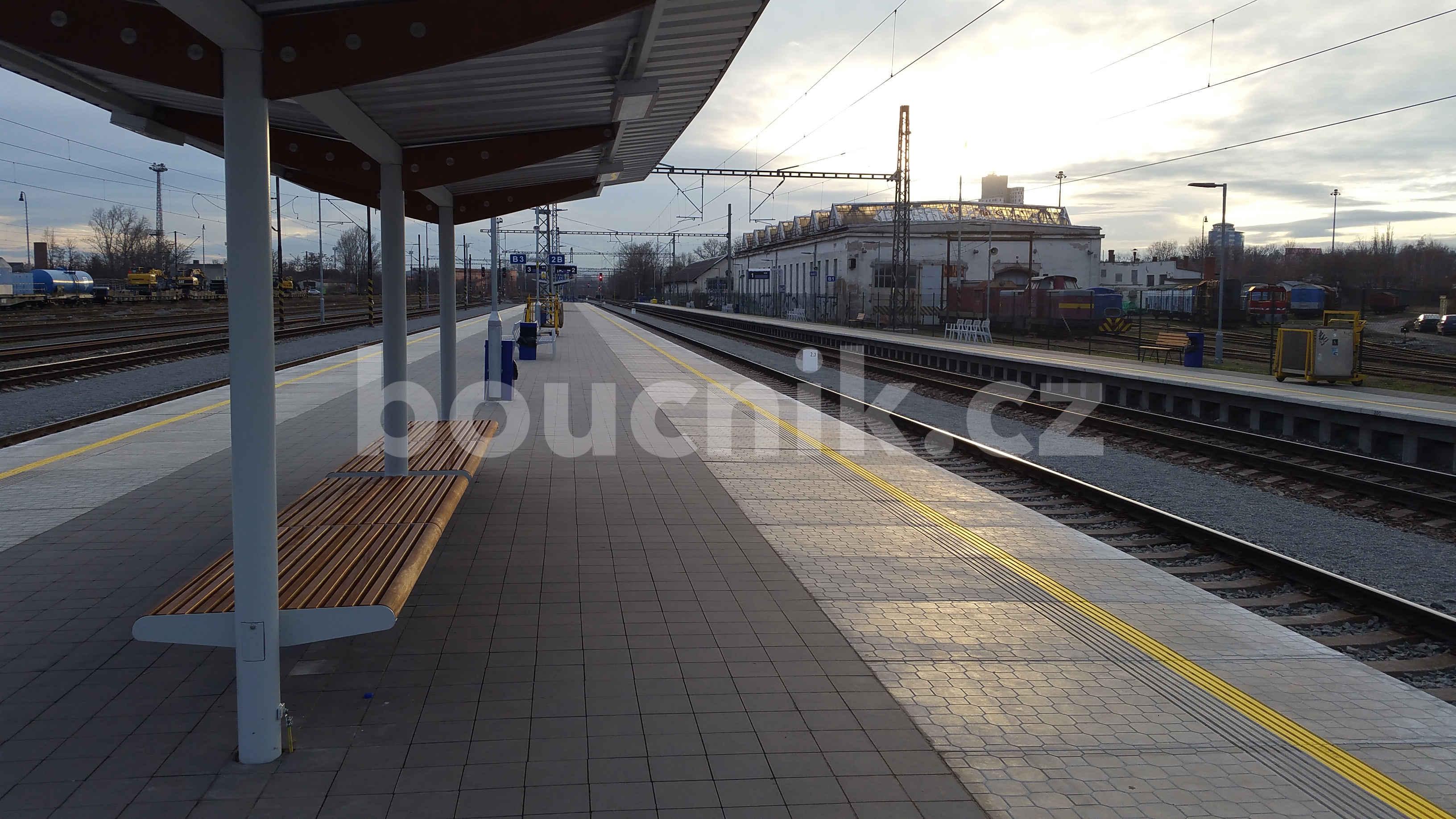 Dvě nová nástupiště v Brně
