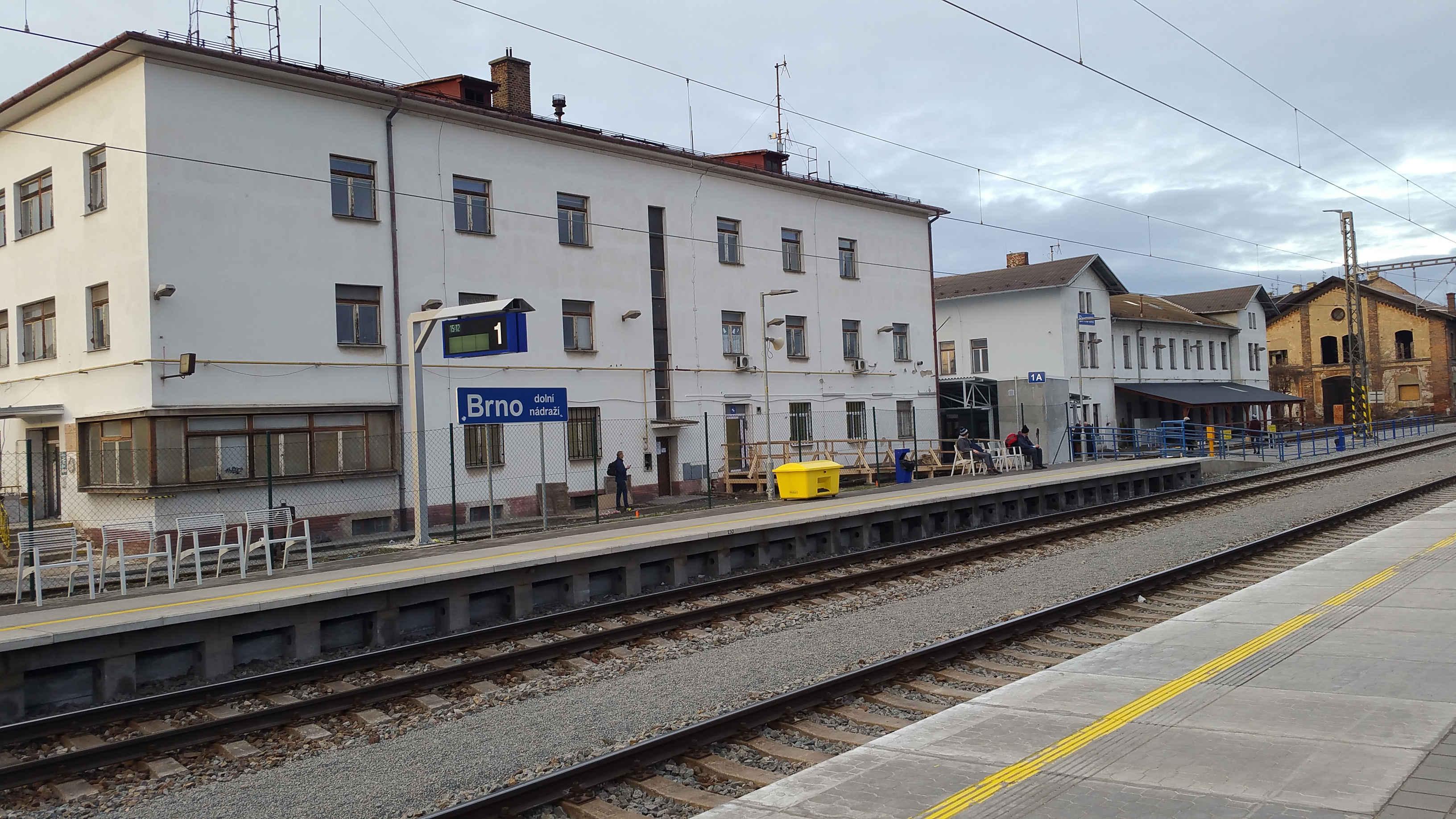 Brno Dolní nádraží - fotka
