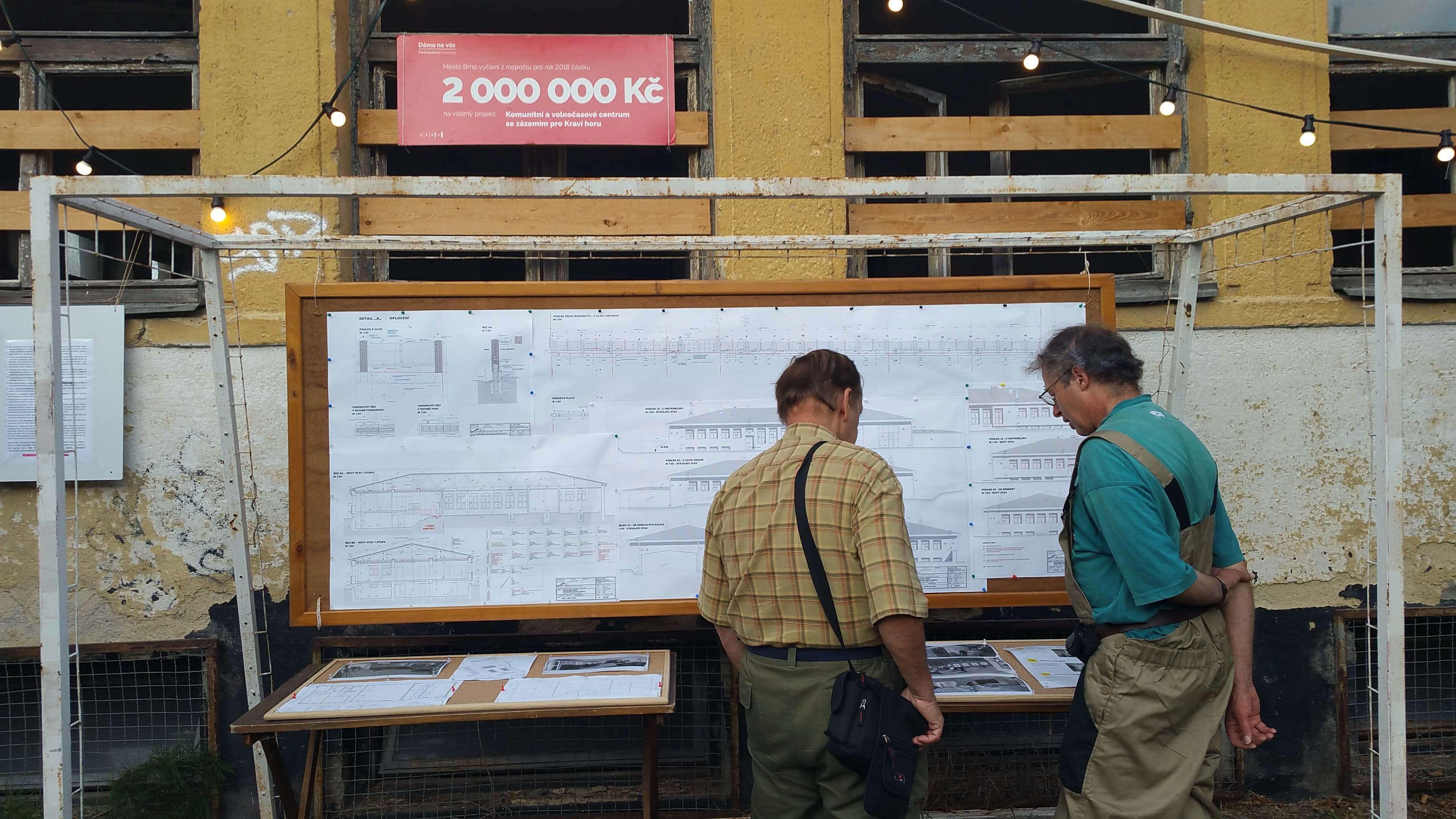 Plány na nové využití areálu pod Kraví Horou