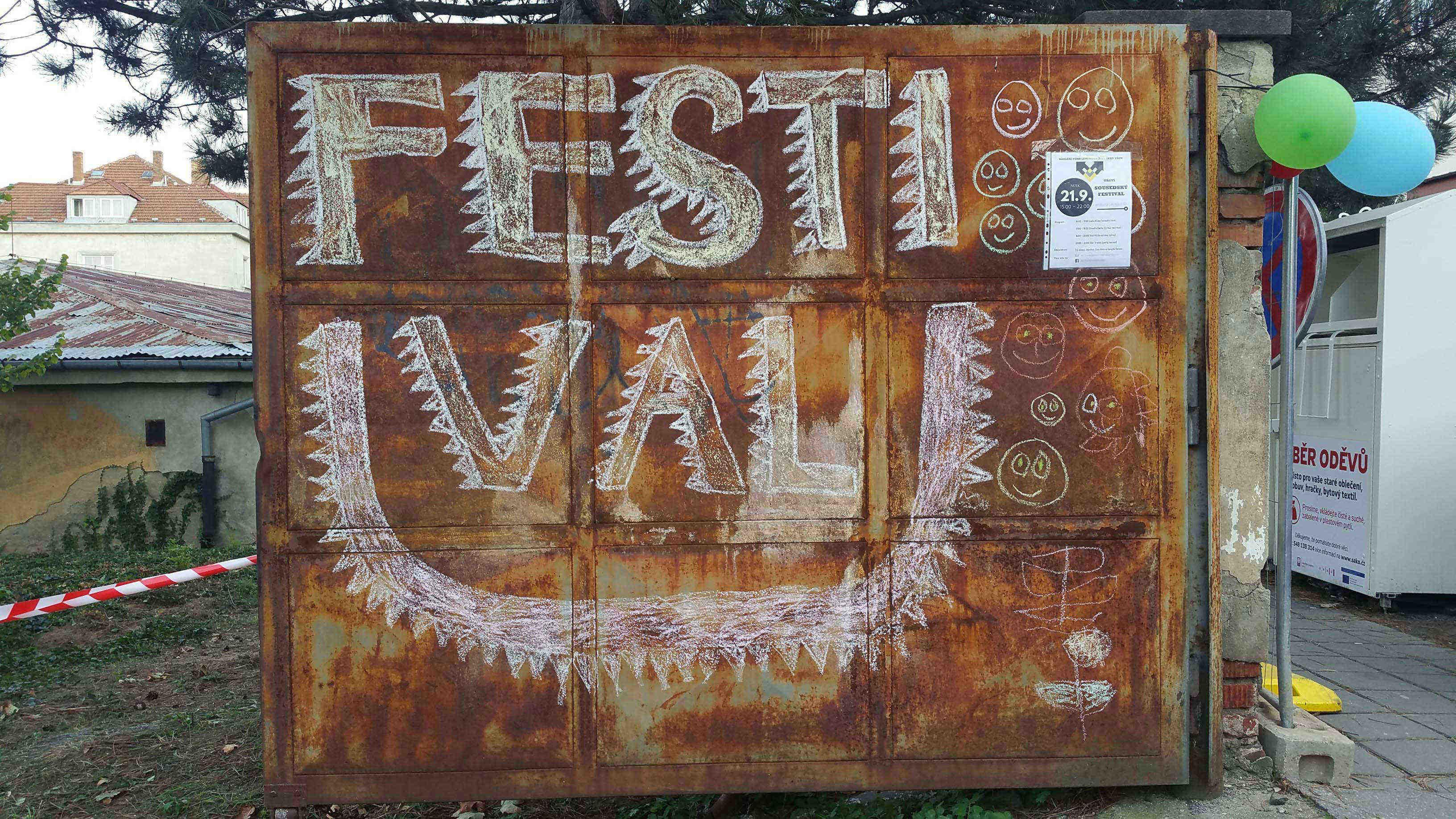 Sousedský festival na Lerchové