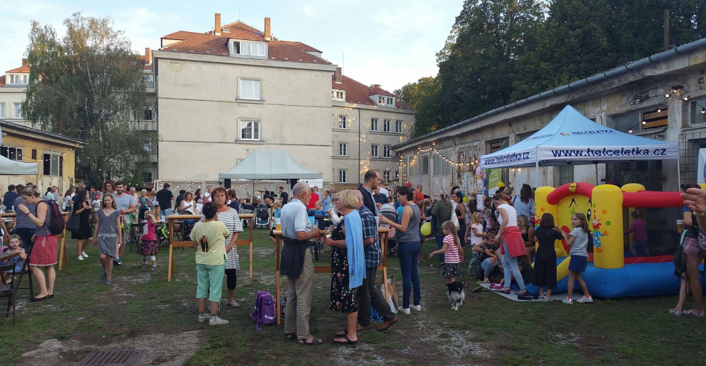 Sousedský festival na Lerchvé