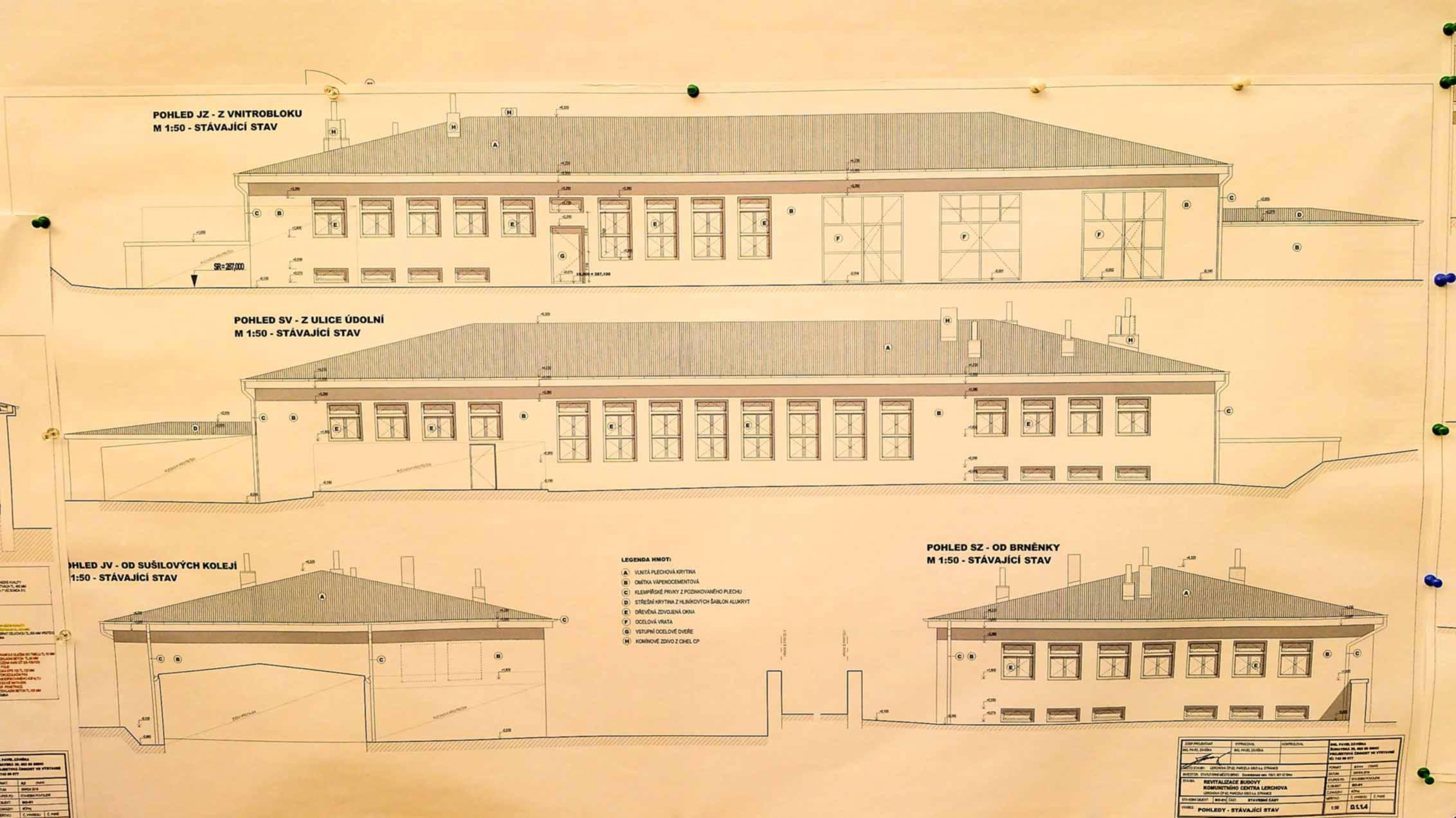 Plány na volnočasové centrum pod Kraví Horouc