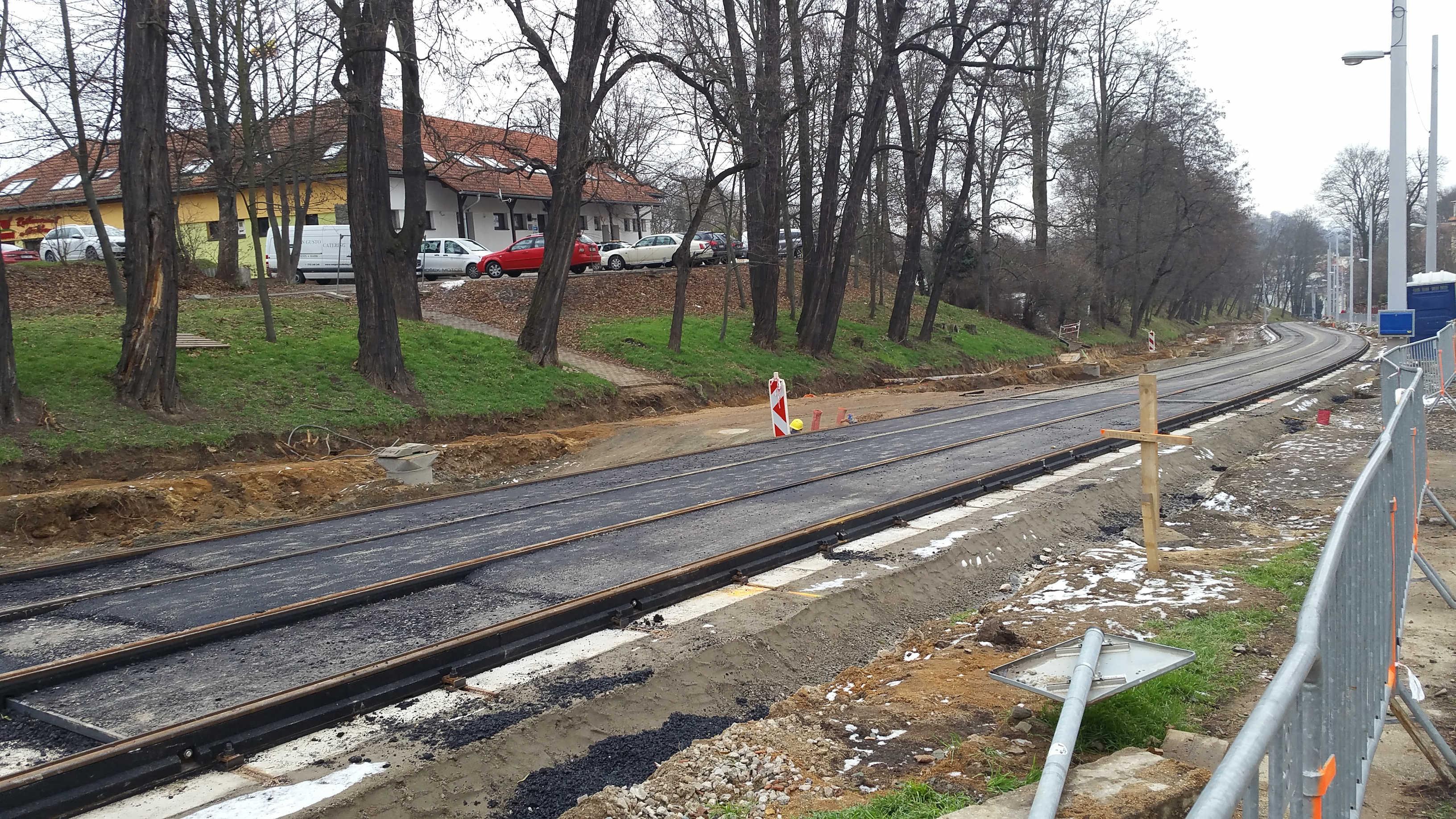 Rekonstrukce ulice Údolní 2018