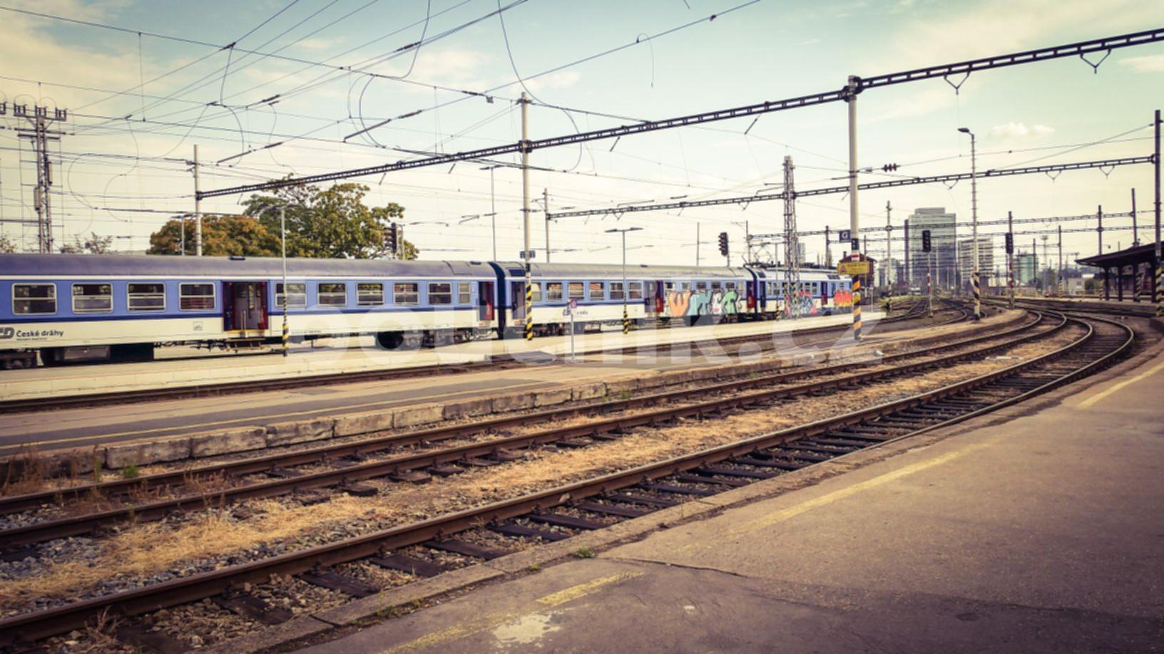 Brno hlavní nádraží na jaře 2018