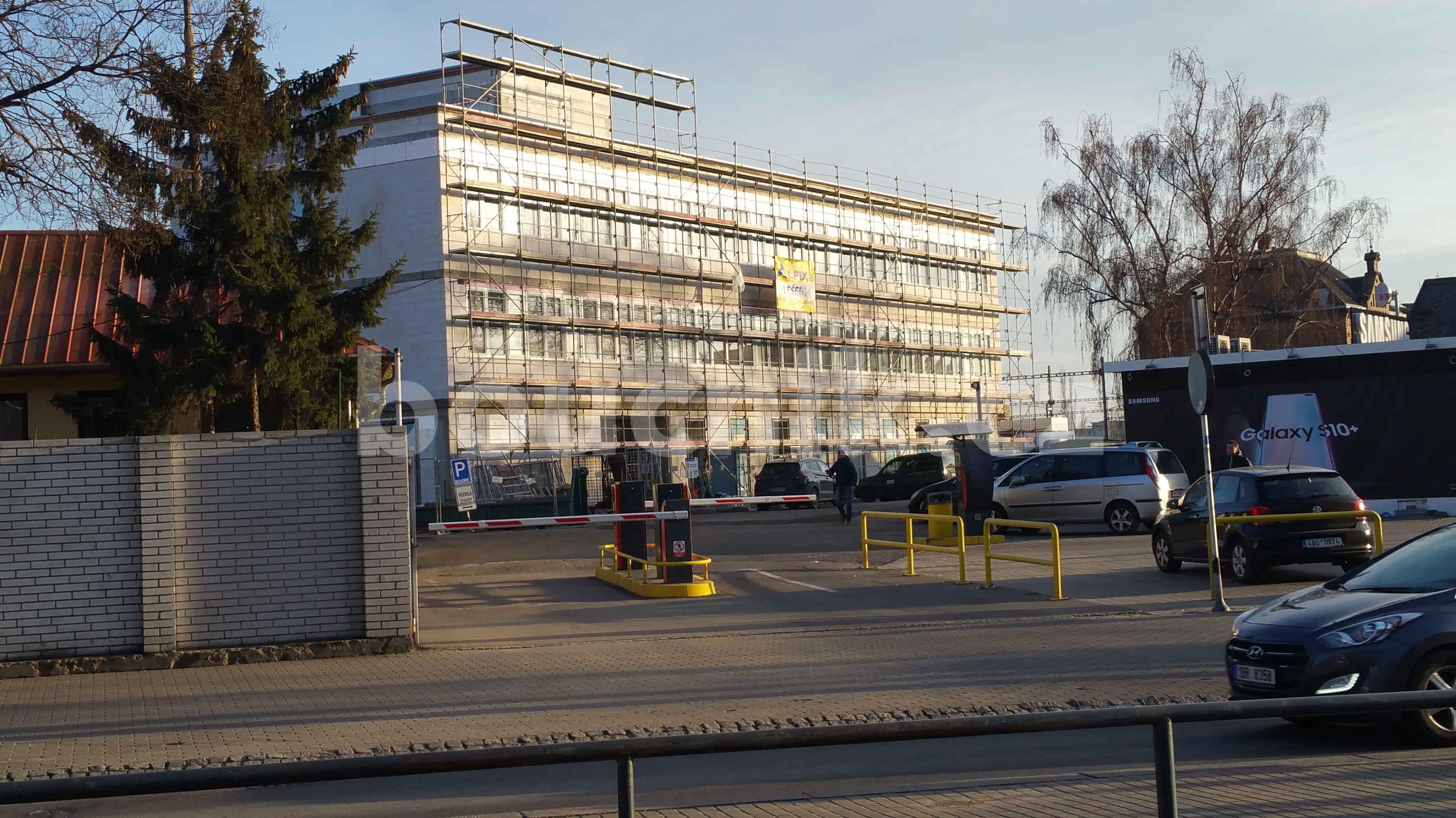 Budova Řizení provozu na brněnském hlavním nádraží
