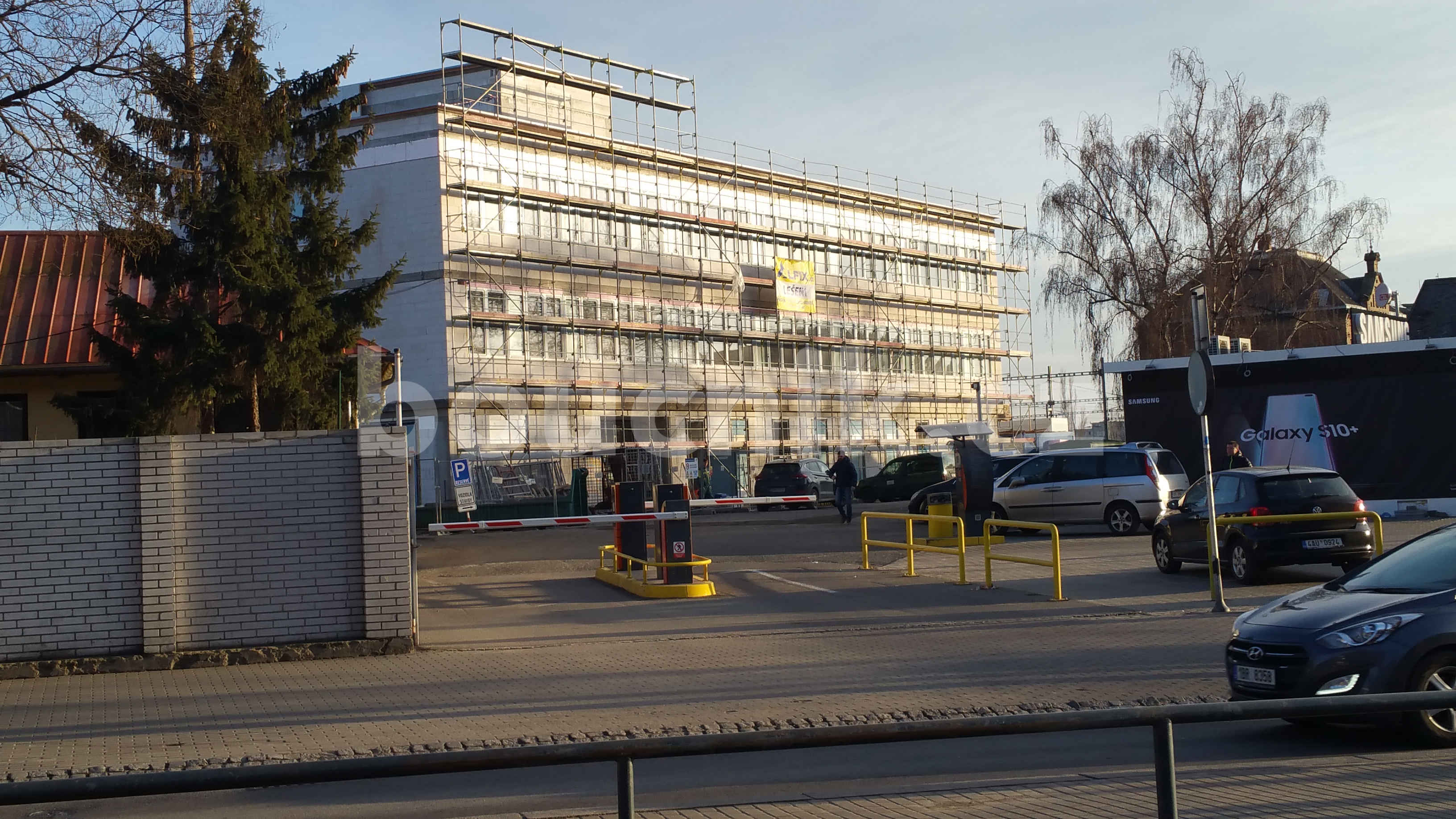 Nová budova SŽDC v Brně na hlavním nádraží, 2019