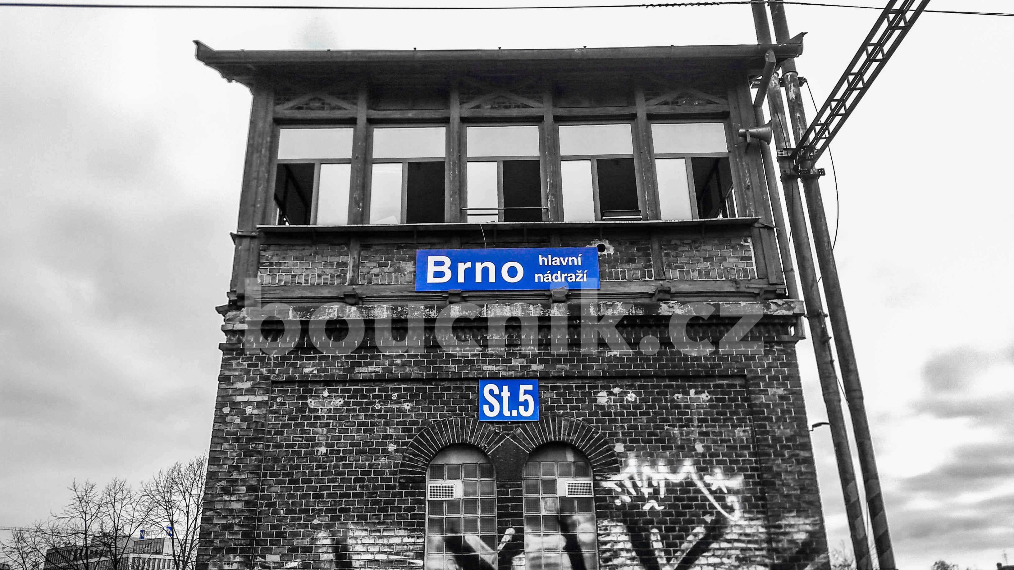 Stavědlo číslo V na brněnském nádraží