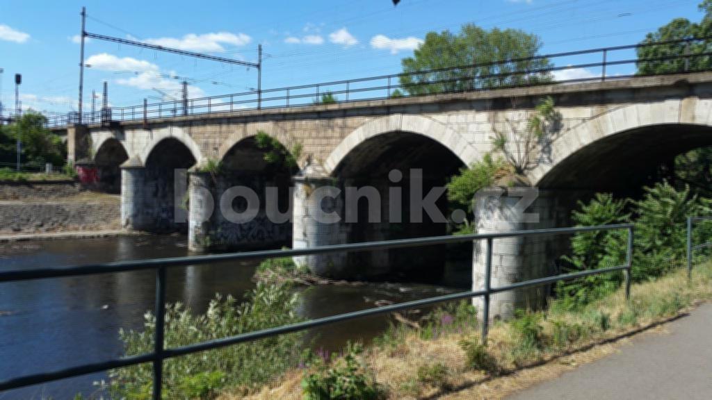 Viadukt nad řekou Svratkou, rok 2017