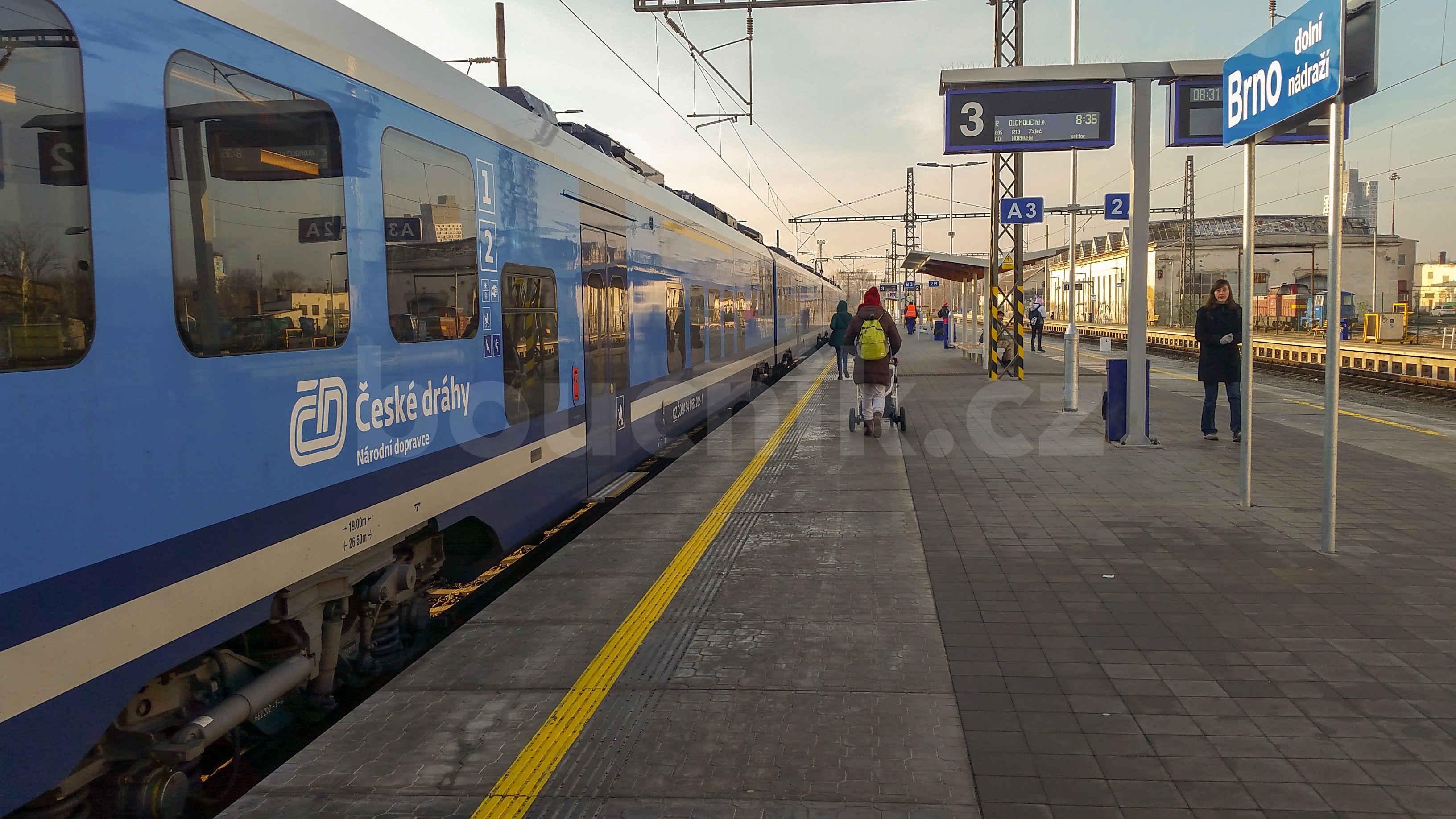 Dolní nádraží v Brně je plně bezbariérové