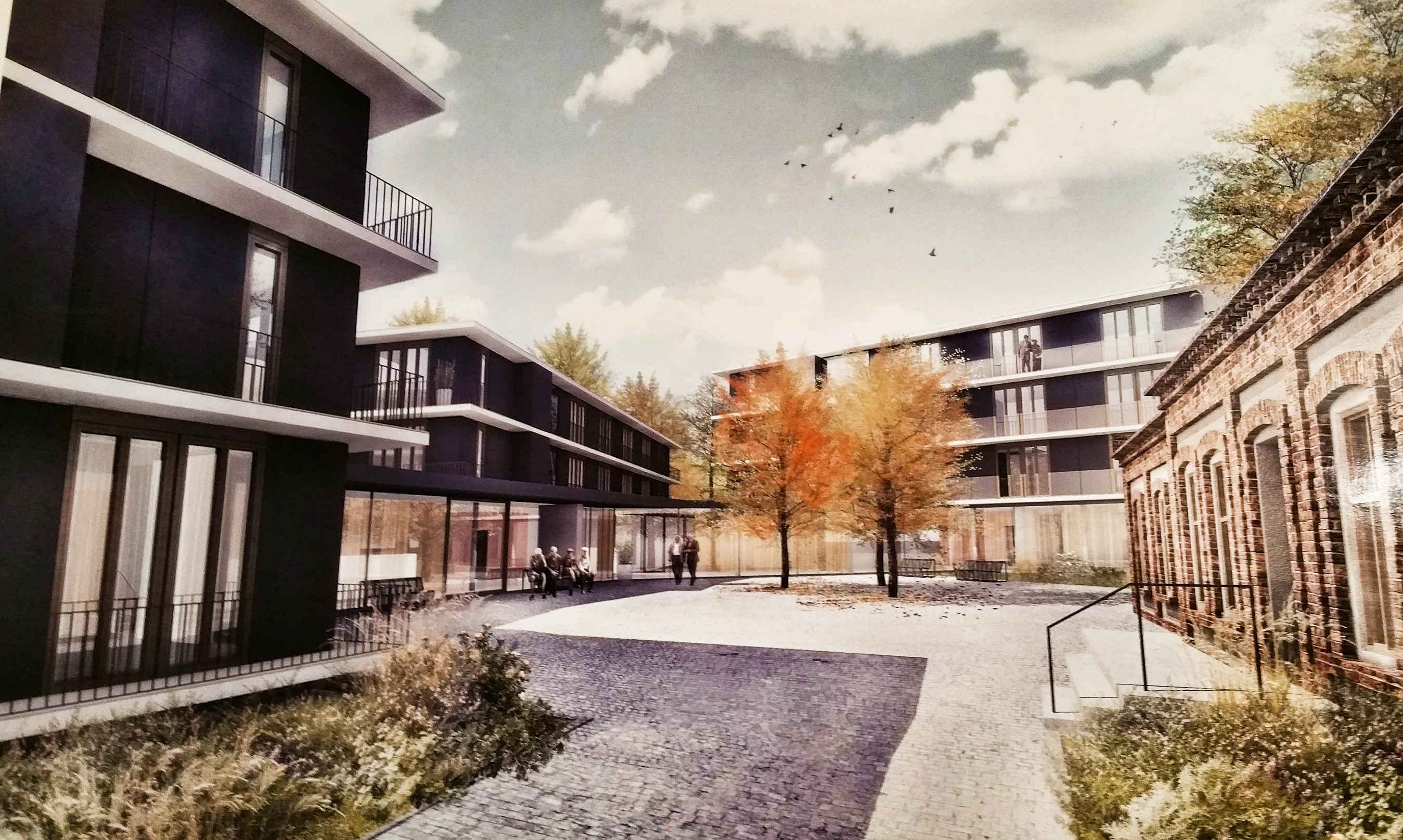 Sociálně zdravotní komplex Červený kopec v Brně