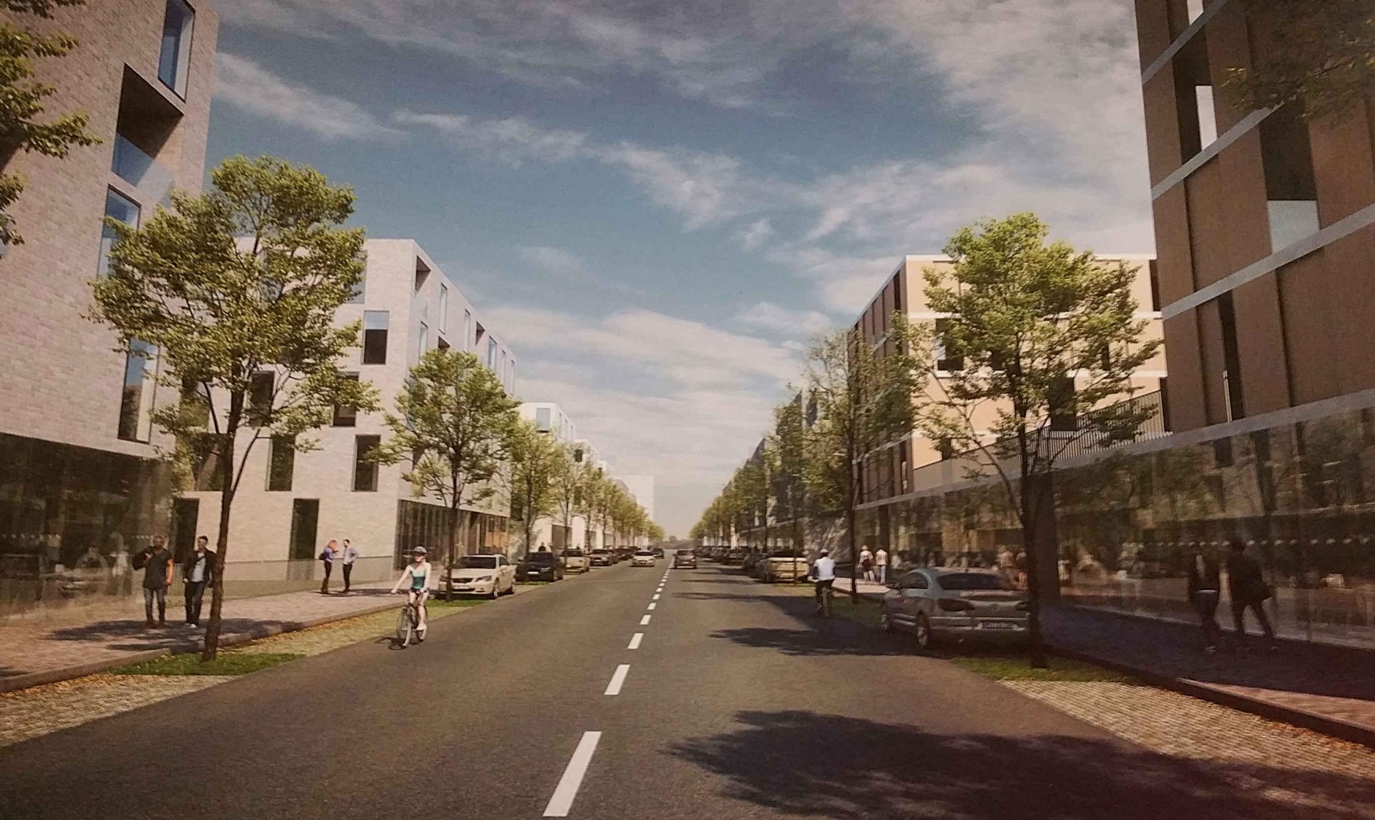Vizualizace nových bytů a domů Na kamenkách
