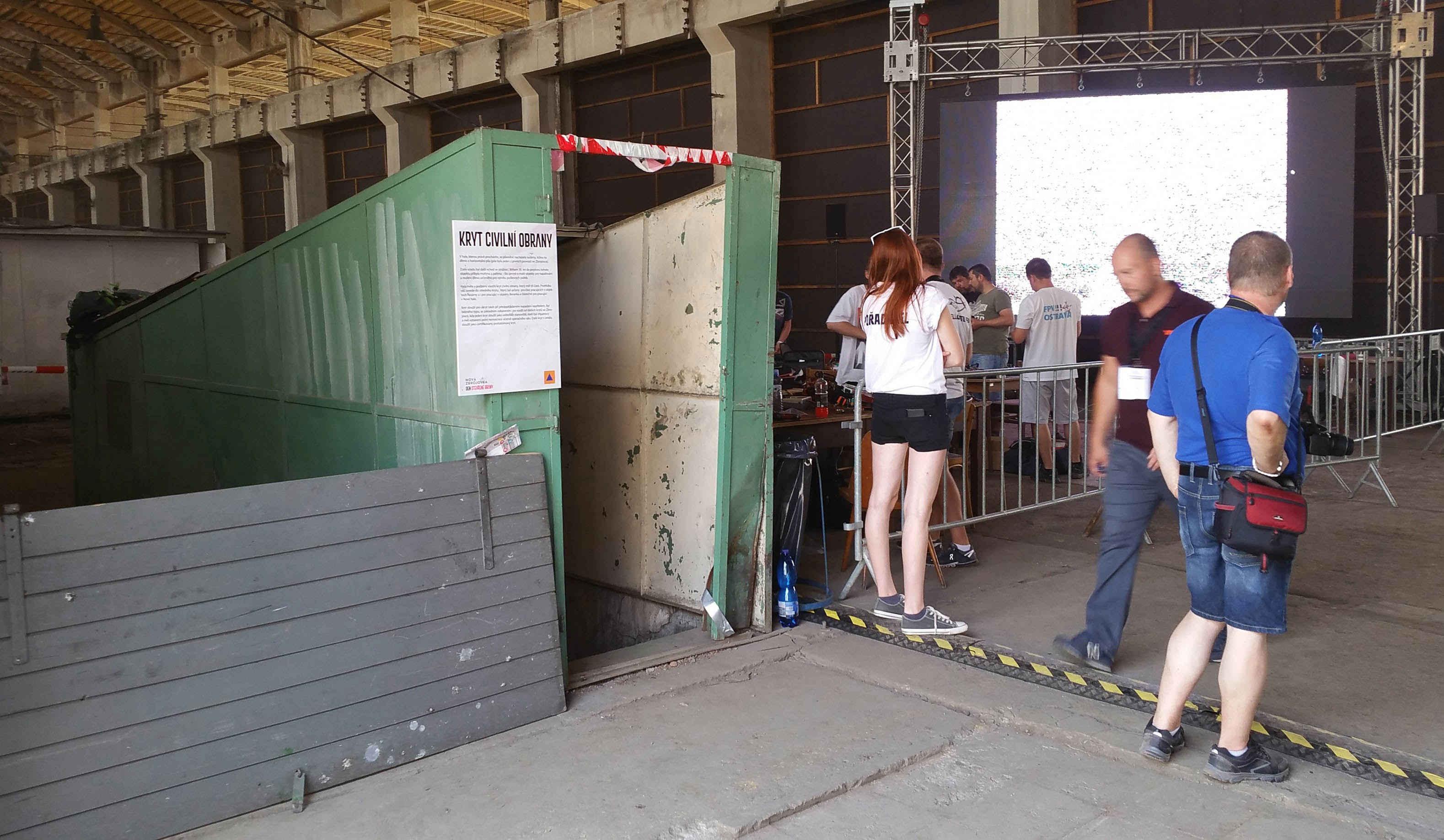 Zbrojovka Brno, kryt pro zaměstnance