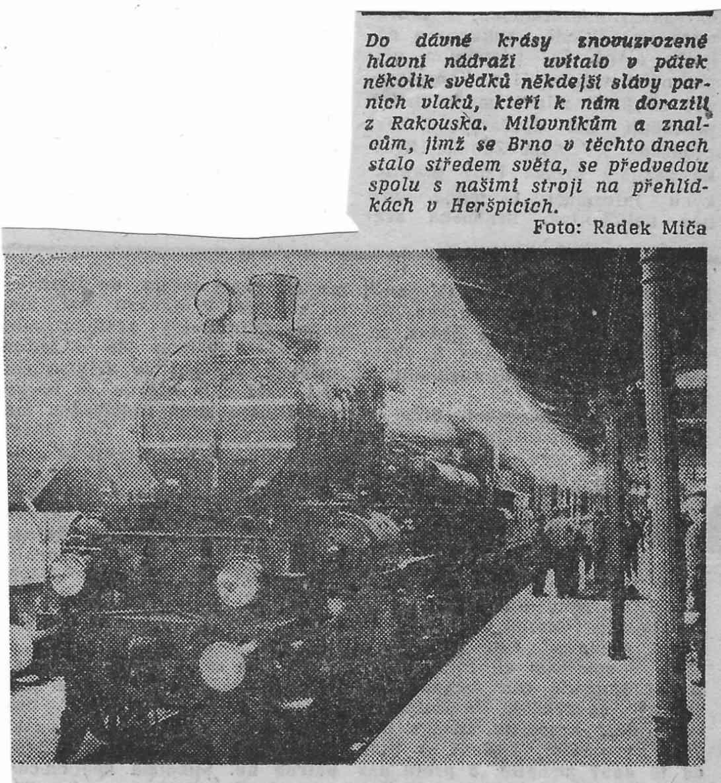 1939 oslavy železnice v Brně