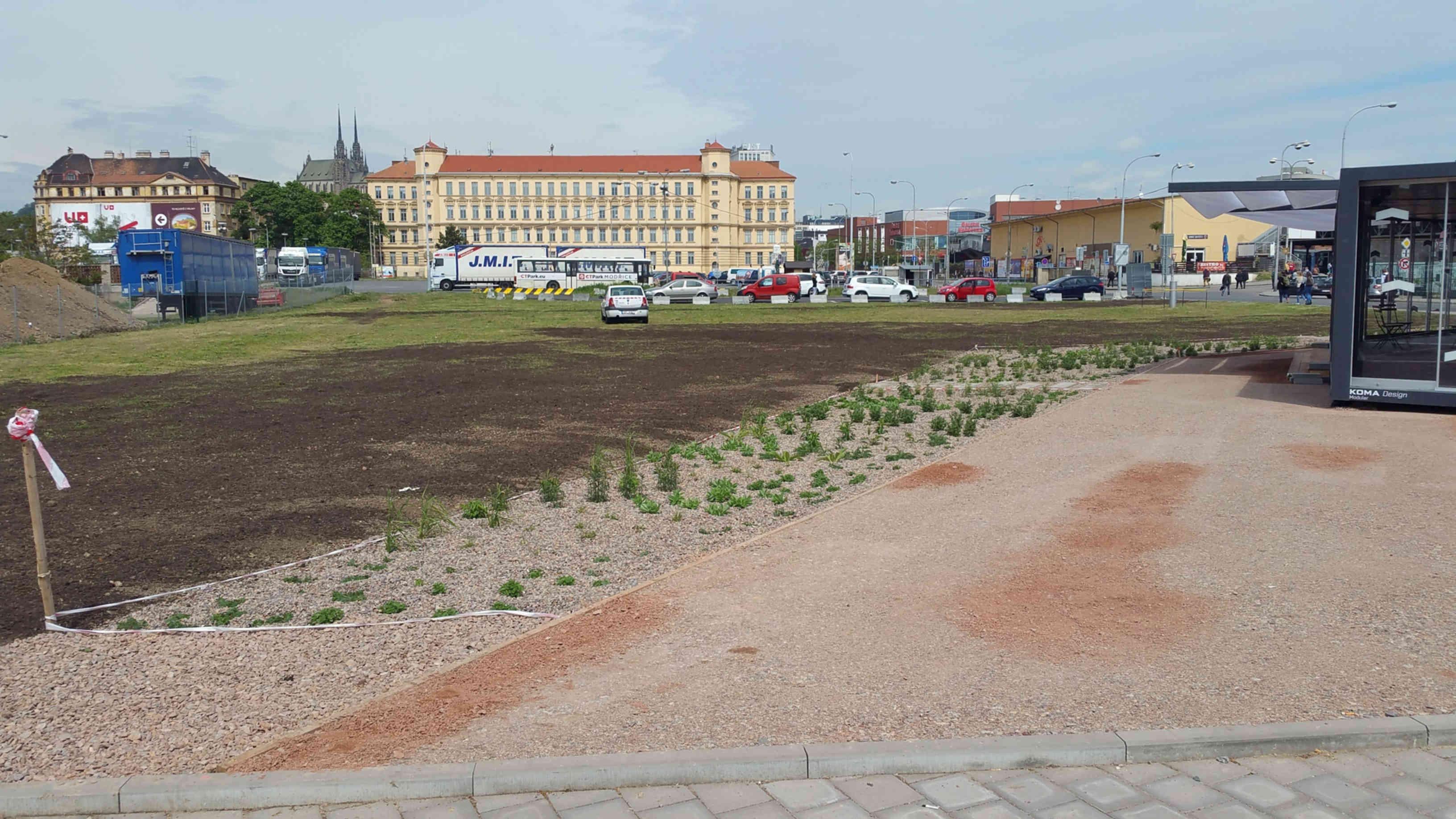 Nové info centrum na Dolním nádraží v Brně