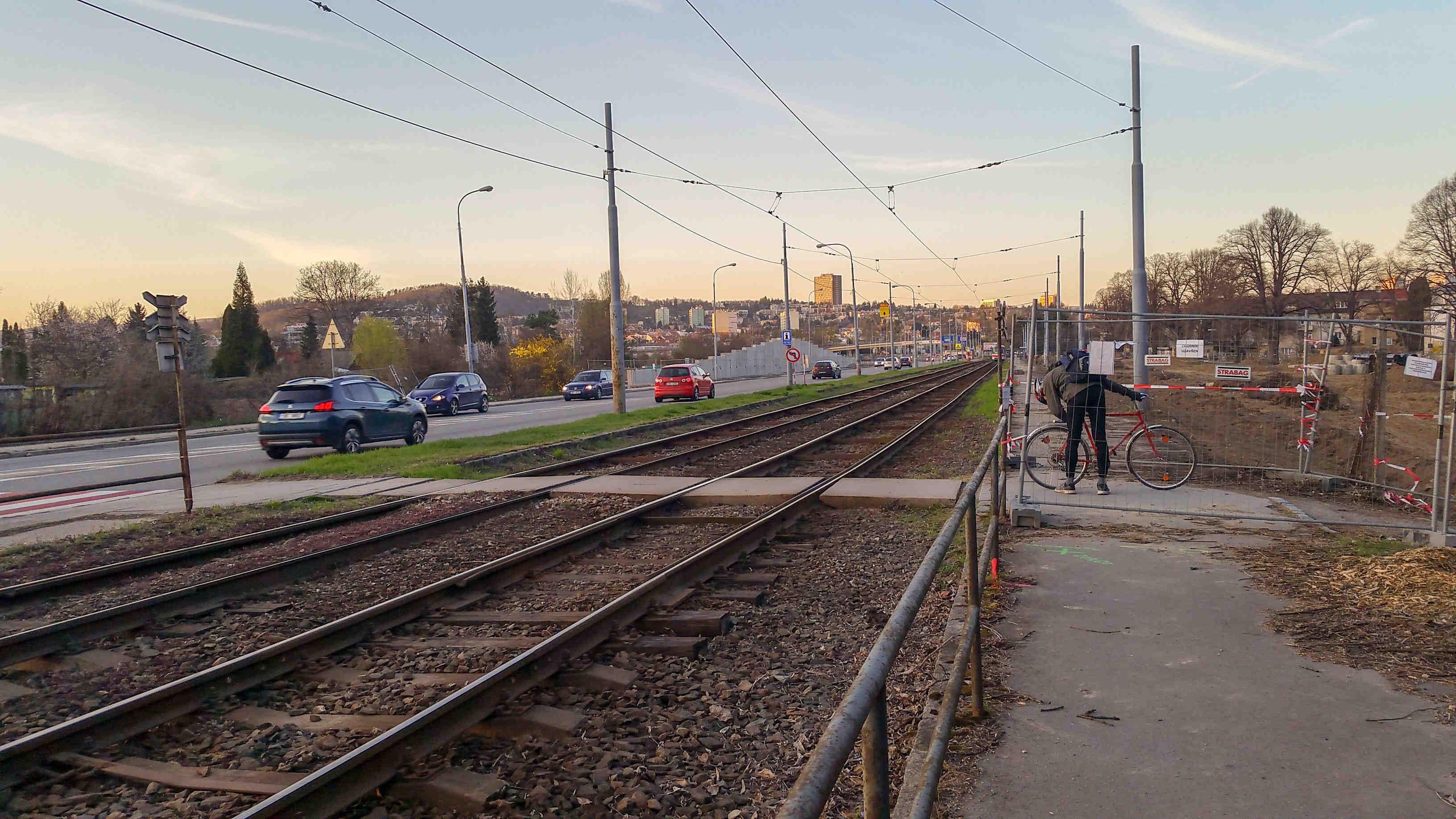 Stavba Velkého městského okruhu v Brně