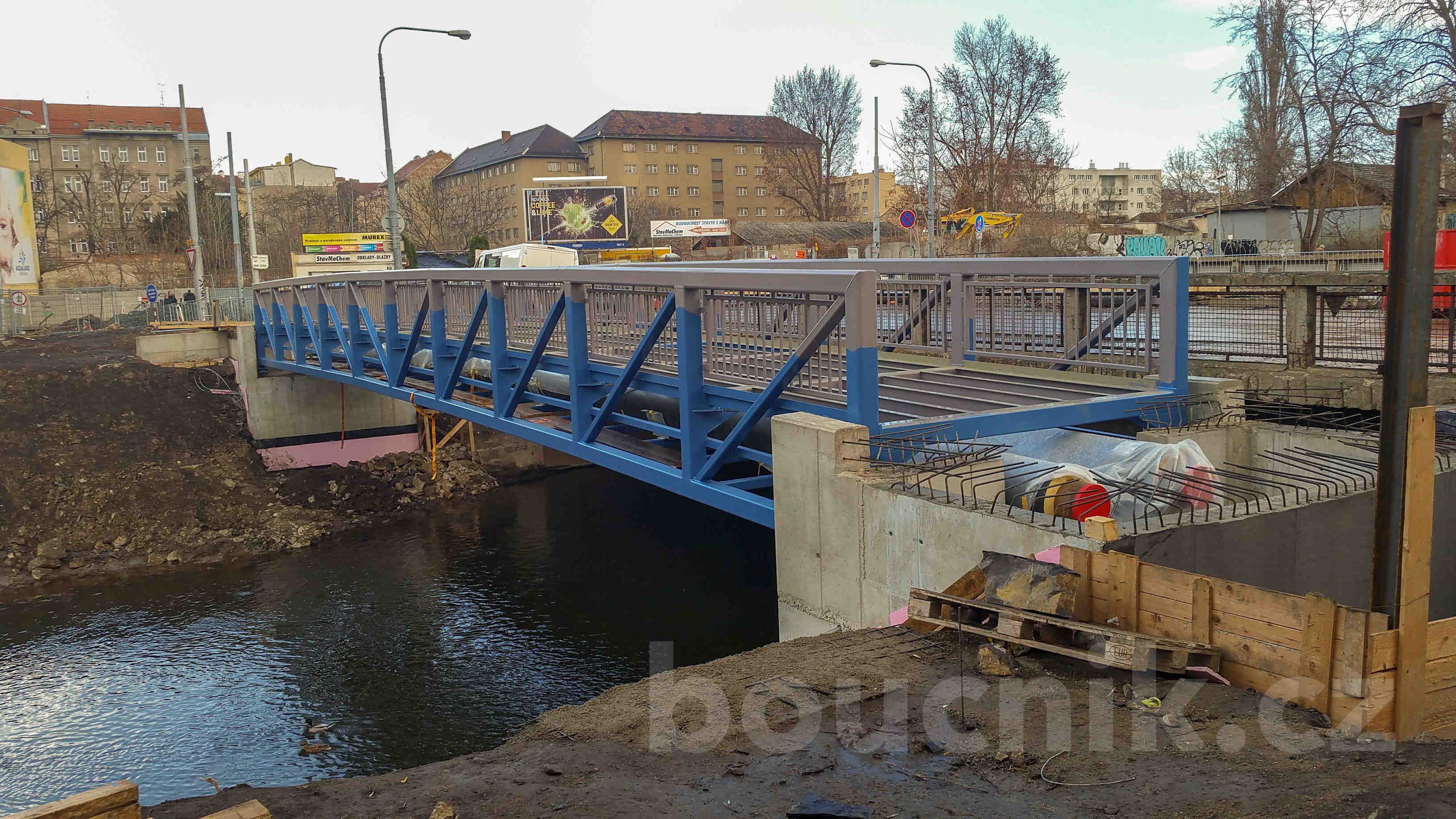 Nový Zábrdovický most pro pěší