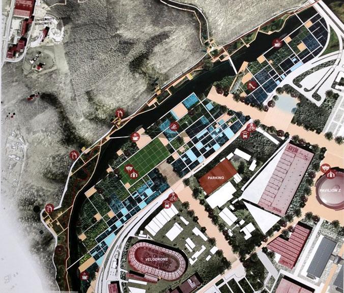 Connatural - zajímavý nápad na napojení na Riviéru a na výstaviště