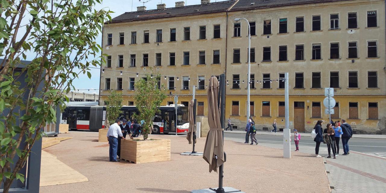 Nová Čekárna na Dolním nádraží v Brně
