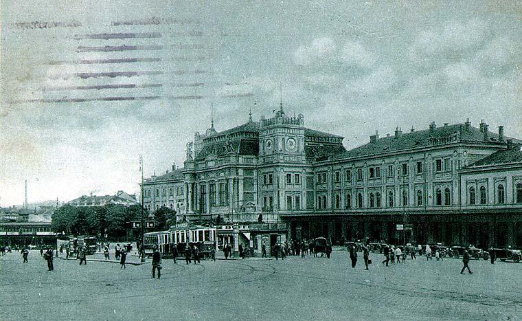 Brno hlavní nádraží, 1922