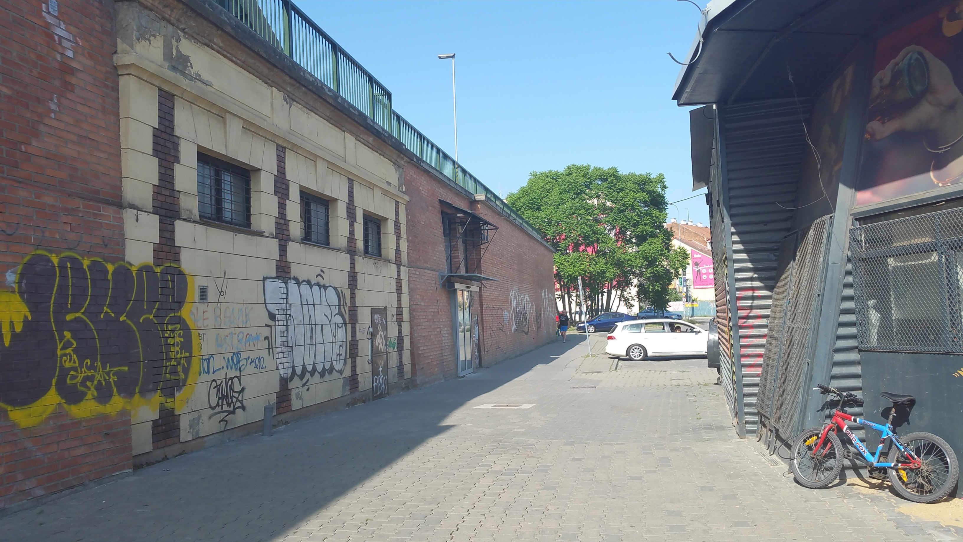 Podchod pod Horním nádražím v Brně