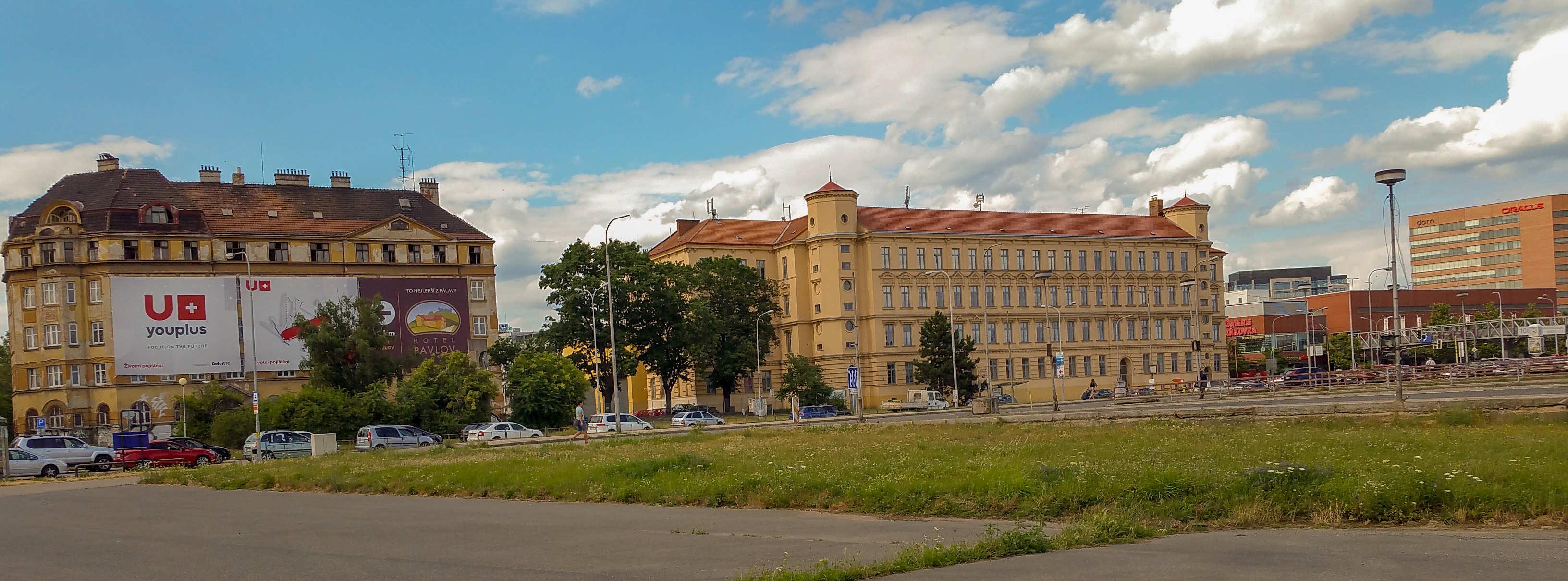 Ulice Opuštěná v Brně, kde mělo vzniknout nové brněnské nádraží