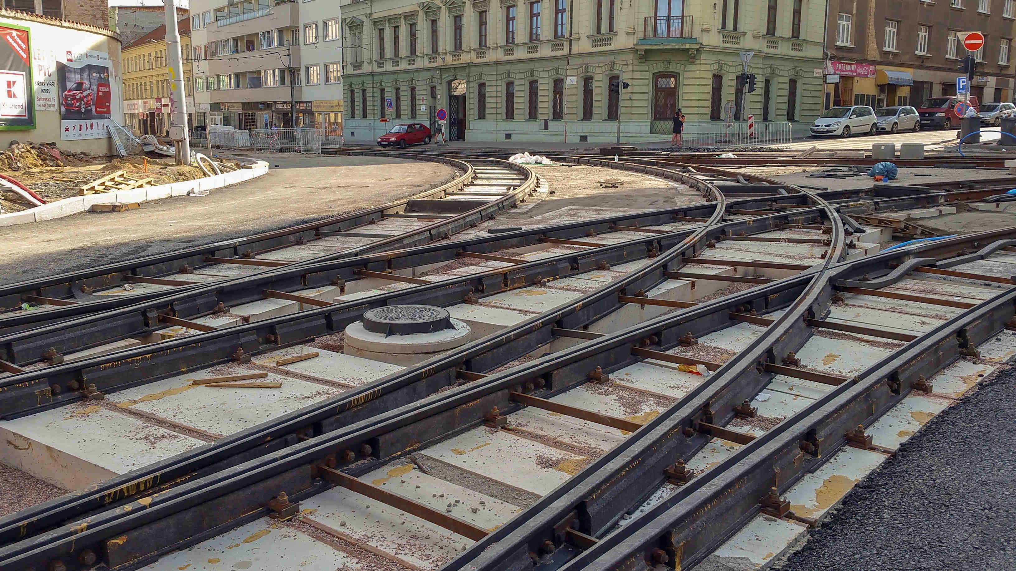 Křižovatka ulice Cejl a Vranovská