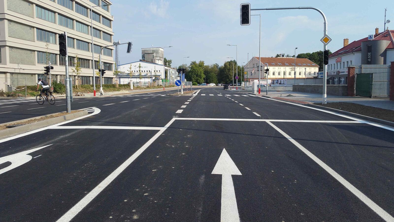 Křižovatka Dornych & Kovářská aneb proměny města
